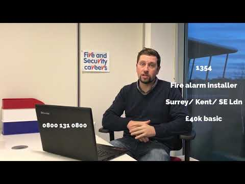 Jobs and candidates on our books in fire and security uk