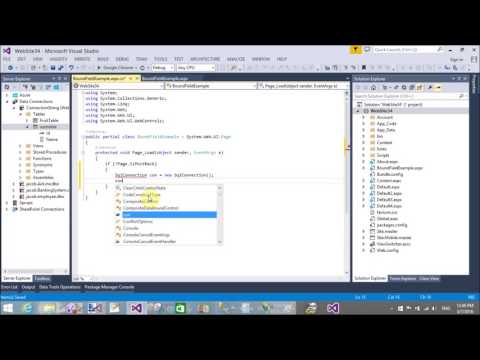 GridView BoundField Example in ASP.NET C#
