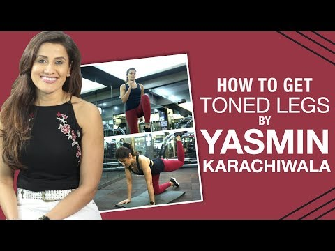How to get a toned lower body in 5 exercises by Yasmin Karachiwala | Lunges | Squat | Pinkvilla