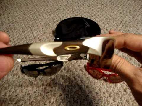Oakley Bottlecap, Removing 5's lenses