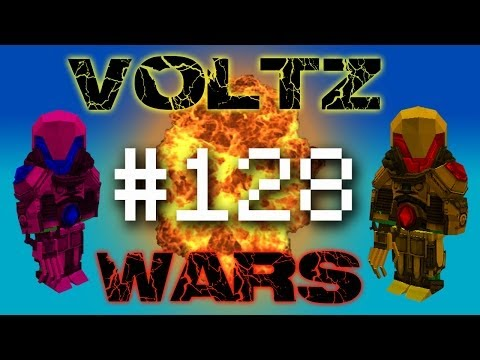 Minecraft Voltz Wars - Space Station! #128