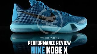 more photos ba4ab 160d1 Nike Kobe X (10) Performance Review