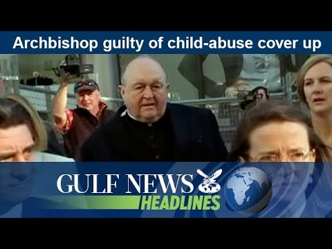 Archbishop guilty of child-abuse cover up - GN Headlines