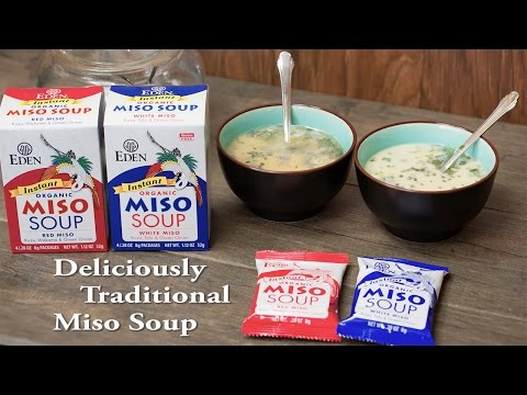 Instant Organic Eden Miso Soups