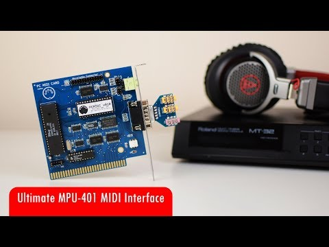 Ultimate Roland compatible MPU-401 MIDI Interface Card with Intelligent Mode