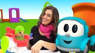 Lustige Schule - Tolle Frisuren für Play Doh Toys.