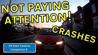UK Dash Cameras - Compilation 8 - 2019 Bad Drivers, Crashes + Close Calls