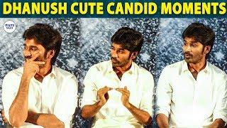 Dhanush Cute Candid Moments | Asuran | LittleTalks