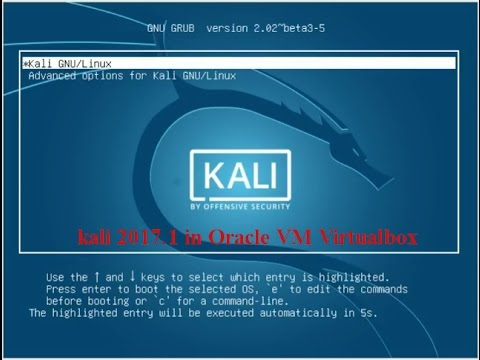 Kali 2017.1 Installation in Oracle VM  virtualbox | How to add Ova file of kali linux in virtual box