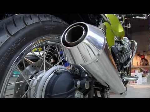 Moto Guzzi V7 Cafe With Mistral Exhaust