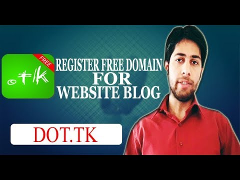 How to Register a Free Domain for your Website/ Blog/ YouTube Channel or Facebook Page