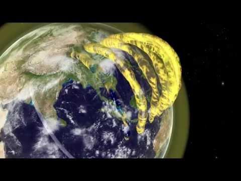 Cosmic cinema: astronomers make real-time, 3D movies of plasma tubes drifting overhead