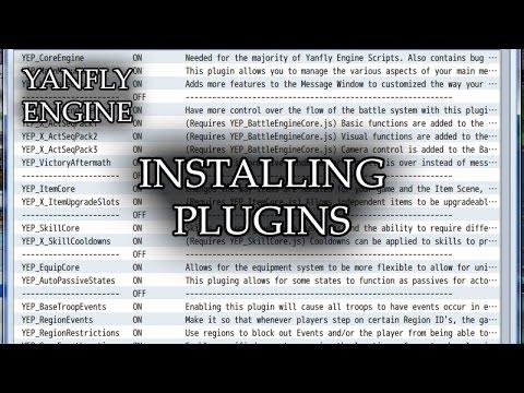 RPG Maker MV - Installing Plugins - PlayItHub Largest Videos Hub