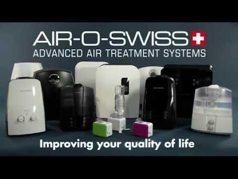 Ultrasonic Humidifier AIR-O-SWISS U7147: Product Video