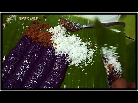 No Steam Puto Bumbong( Requested Recipe)