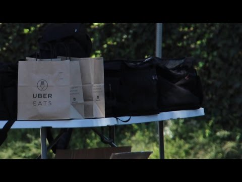 Is Uber Illegally Using Public Parks For Delivery Logistics?