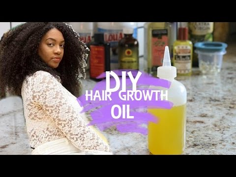 Use this DIY Hair Growth Oil for Longer Stronger more Managable Hair