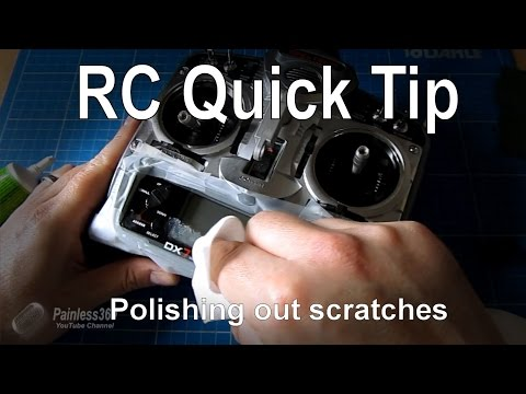 RC Quick Tip - Polishing out scratches in plastic