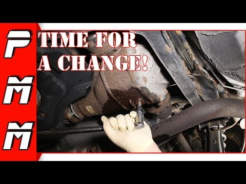 Changing the IS300 LSD Differential Fluid
