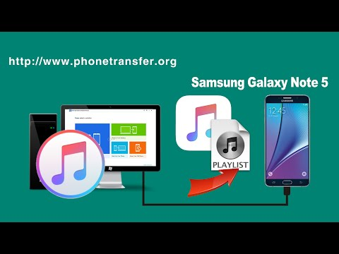 [iTunes to Galaxy Note 5]: How to Sync Music, Playlist from iTunes to Samsung Galaxy Note 5