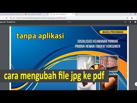 cara mengubah jpg ke pdf di komputer