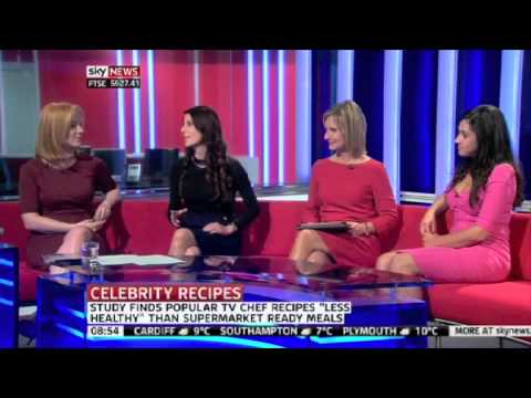 Celebrity chef recipes more unhealthy than ready meals