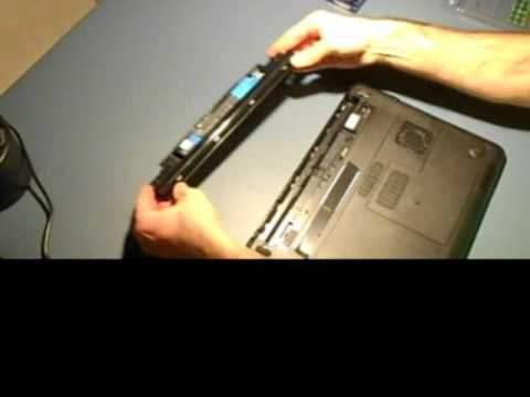 Laptop Battery Removal (Dell Inspiron)