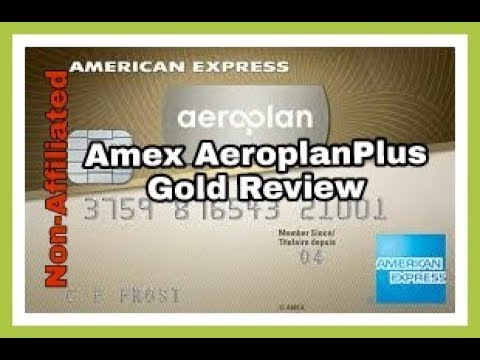 Non-Affiliated | American Express Aeroplan Plus Gold Credit Card Unboxing & Review