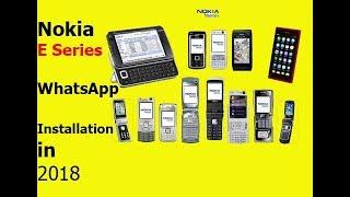 Nokia E71/E72 WhatsApp Installation fix and Update in 2018