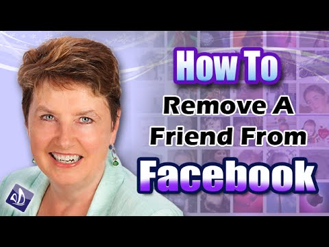 How To Remove a Friend From Facebook