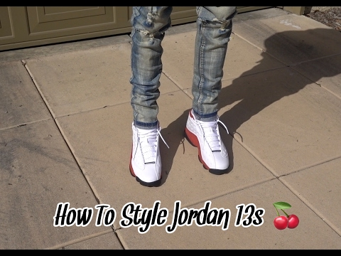 How To Style Jordan 13s with Skinny Jeans | Review + On Foot