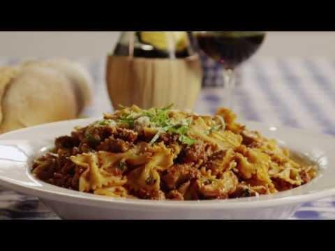 Chicken and Sausage with Bowties | Pasta Recipe | Allrecipes.com