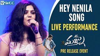 Hey Nenila Song LIVE Performance | Mr Majnu Pre Release Event | Akhil Akkineni | Jr NTR | Nidhhi