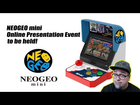 SNK Neo Geo Mini Online Presentation - They Want Us To Ask Questions!