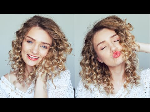 LONG LASTING CURLS FOR STRAIGHT HAIR!