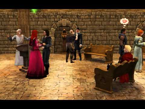 Sims Medieval Wedding