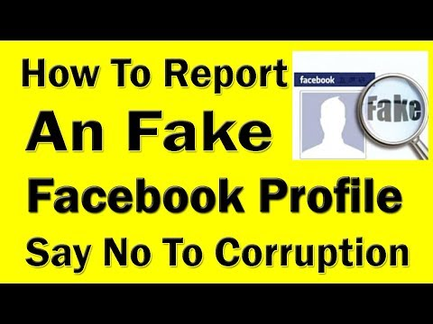Report An Fake Facebook Profile | Delete Someone's Fake Facebook Account With One Report UrduHindi