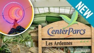 NEW AQUA MUNDO WATERPARK: Center Parcs Les Ardennes | All Slides / Tous les Toboggans Onride