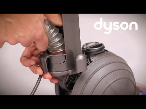 Dyson Small Ball upright vacuum - Checking the wand and hose for blockages (UK)