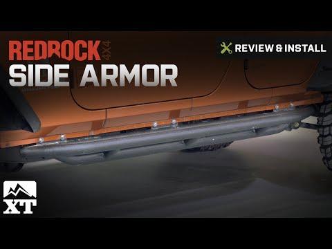 Jeep Wrangler RedRock 4x4 Side Armor (1987-2006 YJ & TJ) Review & Install