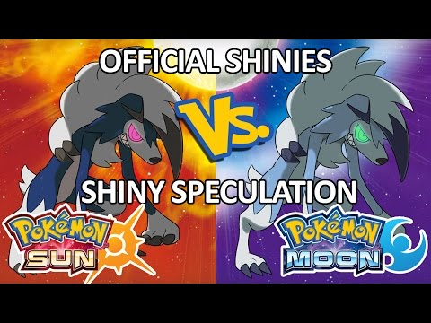 Pokemon Sun and Moon: Official Shinies vs. Shiny Speculation - How'd I Do? (Part 2)