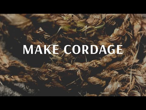 Continuous Cut Cordage Making