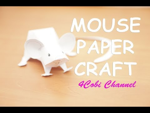Mouse Papercraft Mouse Paper Craft