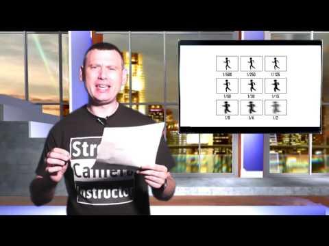 Basic Course: Video 4;  Understanding Shutter Speed