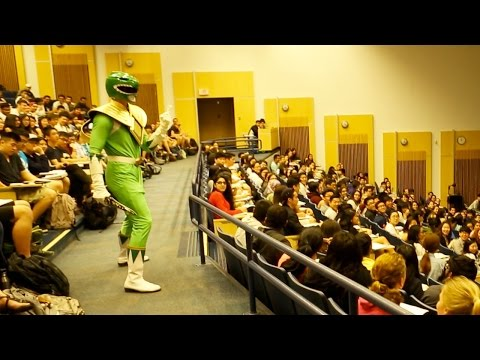 GREEN POWER RANGER PRANK - CHENGMAN