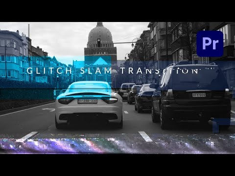 How To Create an Epic Glitch Slam Transition in Premiere Pro - TUTORIAL