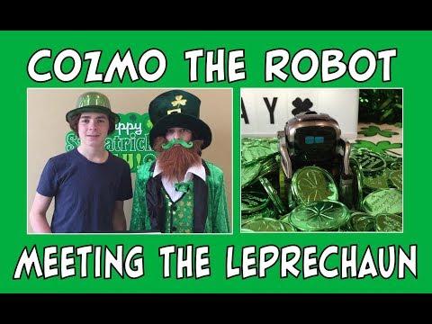 Cozmo the Robot | Cozmo Meets the Leprechaun | Episode #83