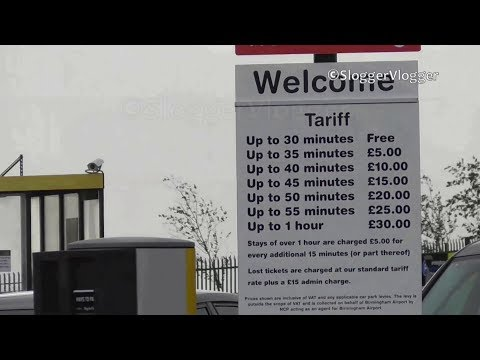 30 Min Free Parking at Birmingham Airport