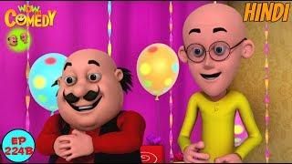Motu Patlu Ki Gift - Motu Patlu in Hindi - 3D Animated cartoon series for kids - As on Nick