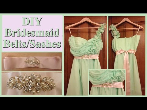 Wedding Series - DIY - Bridesmaid Belt/Sash